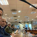 Reunión con los representantes de las federaciones deportivas españolas en la sede del CSD