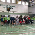Fotos de los campeonatos de España de Badminton celebrados en Armilla (Granada).