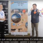 Video de la entrevista a Presidente de la FEDS en Petanca